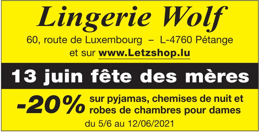 Lingerie Wolf