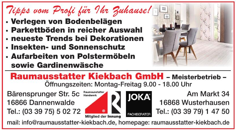 Raumausstatter Kiekbach GmbH