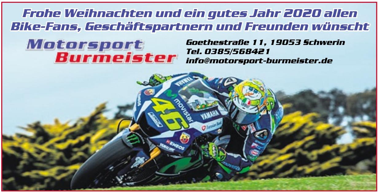 Motosport Burmeister