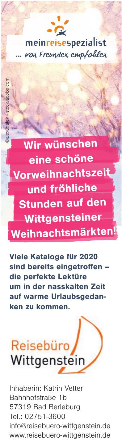 Reisebüro Wittgenstein e.K.