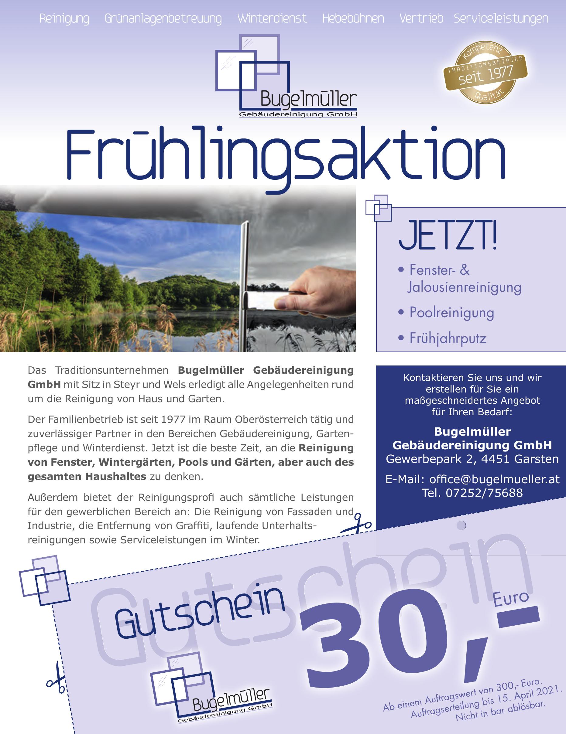 Bugelmüller Gebäudereinigung GmbH