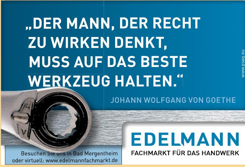Edelmann - Fachmarkt für das Handwerk