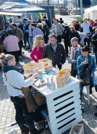Die Hausmesse der Weinquelle wird Tradition in Stormarn