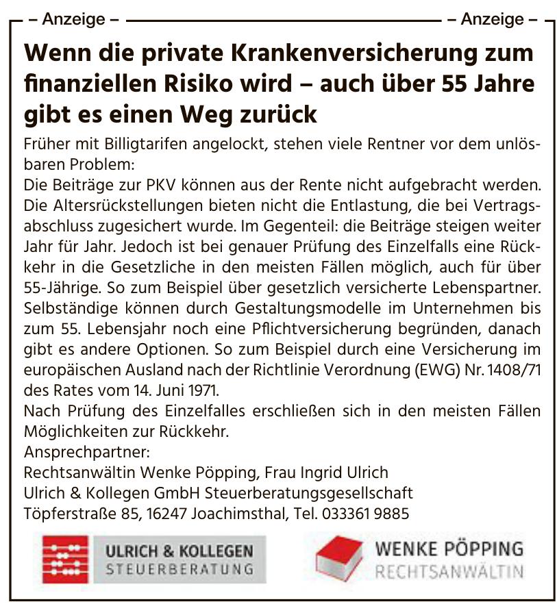 Ulrich & Kollegen GmbH Steuerberatungsgesellschaft