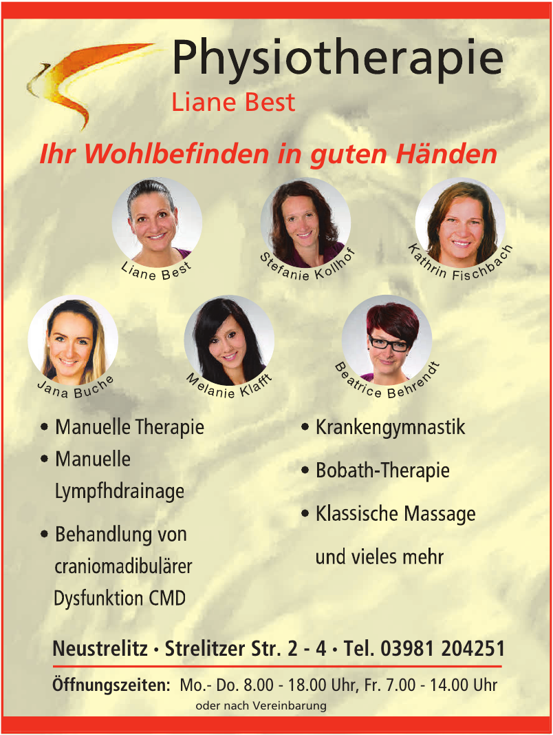 Physiotherapie Liane Best