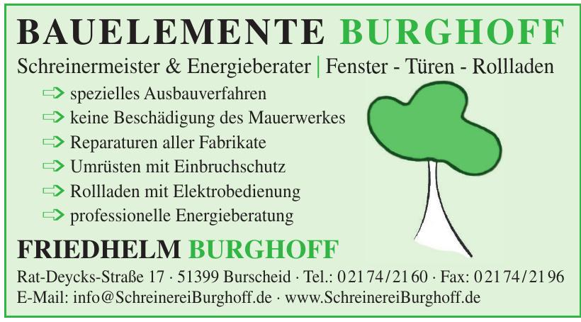 Burghoff Bauelemente