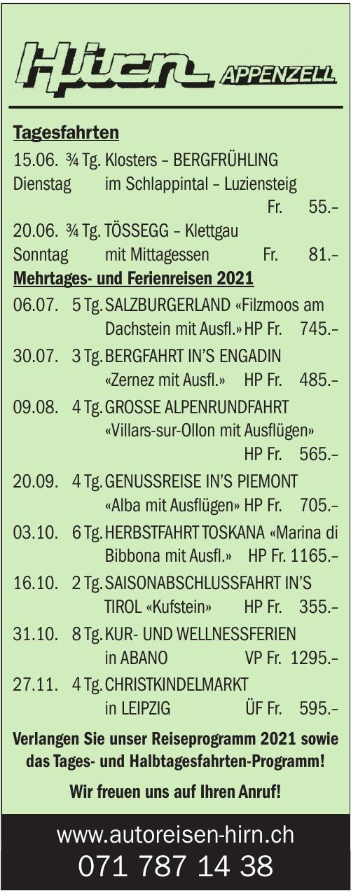 Hirn Appenzell