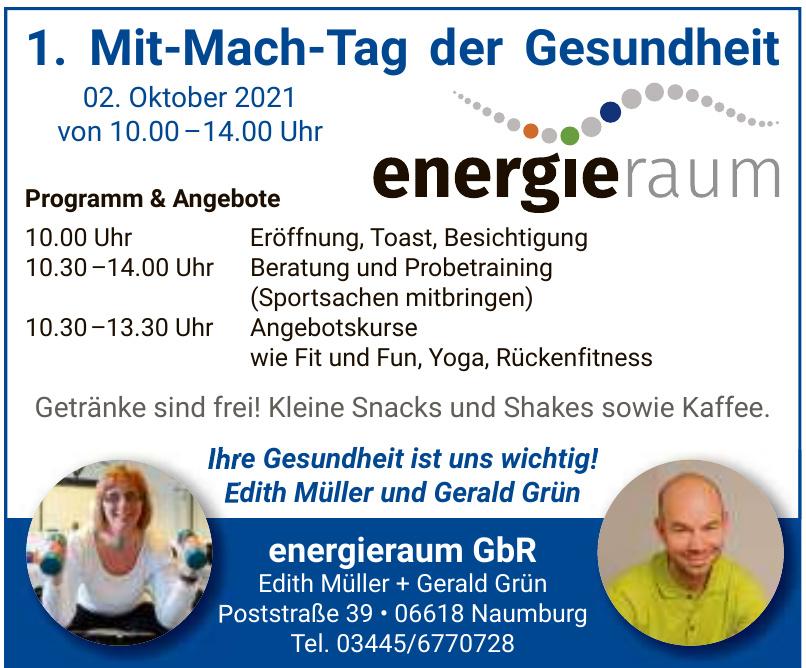 energieraum GbR - Edith Müller + Gerald Grün