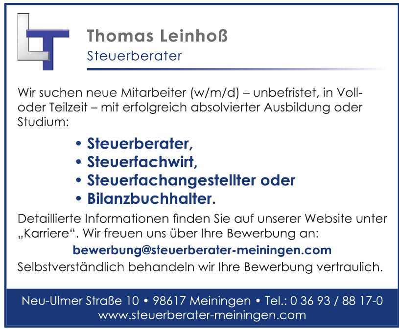 LT Thomas Leinhoß Steuerberater