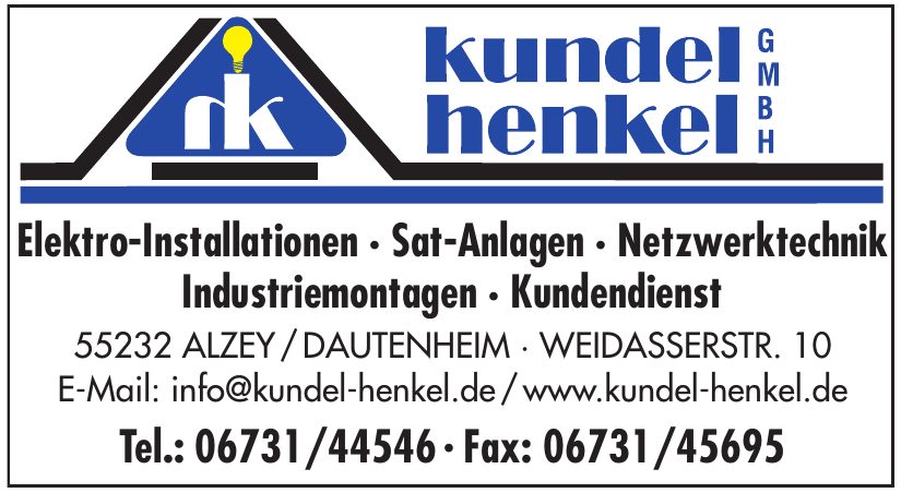 Kundel Henkel GmbH