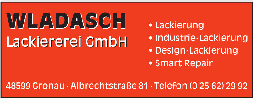 Wladasch Lackiererei GmbH