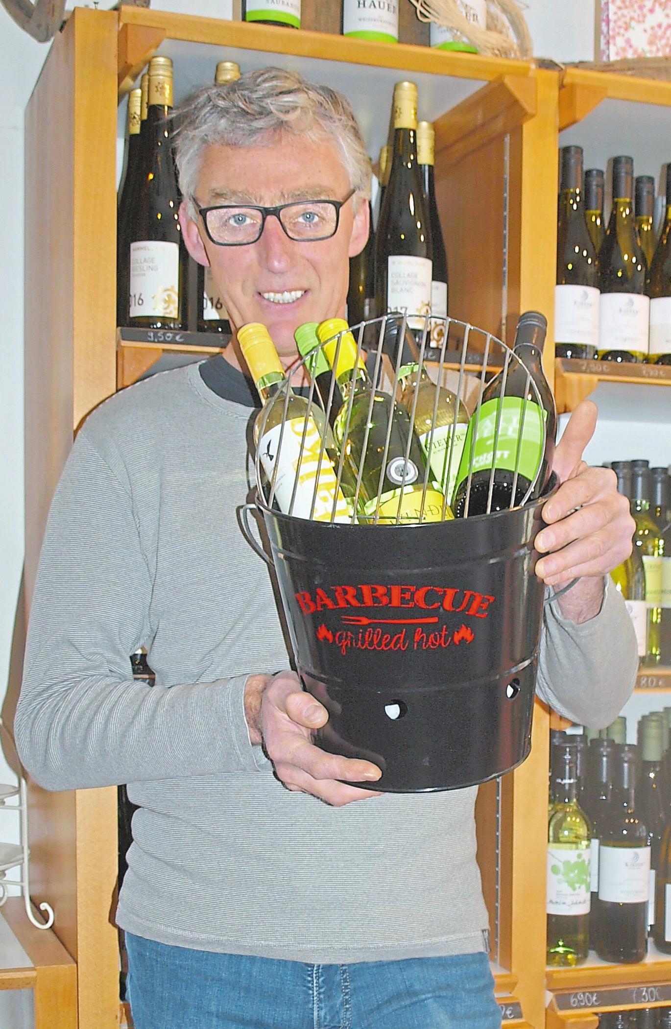 Marcus Schulz präsentiert spannende Weine zum Barbecue.