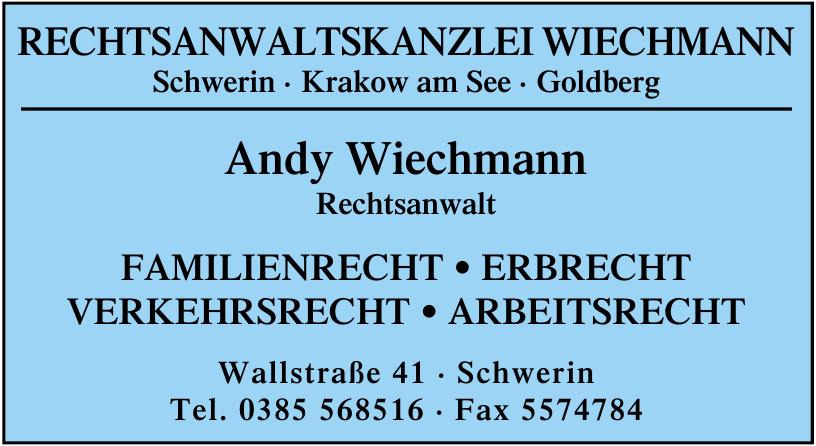 Andy Wiechmann Rechtsanwalt