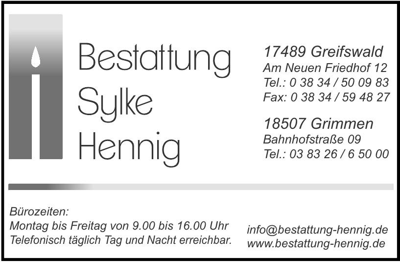 Bestattung Hennig