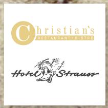 Christian´s Restaurant, Bistro - Hotel Strauss