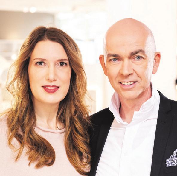 Christiane und Gerd Schründerleiten das FamilienunternehmenSchründer Schlafräume