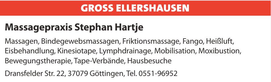 Massagepraxis Stephan Hartje