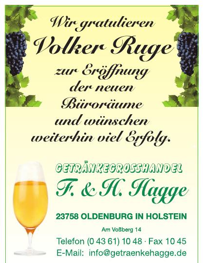 Getränkegrosshandel F. & H. Hagge