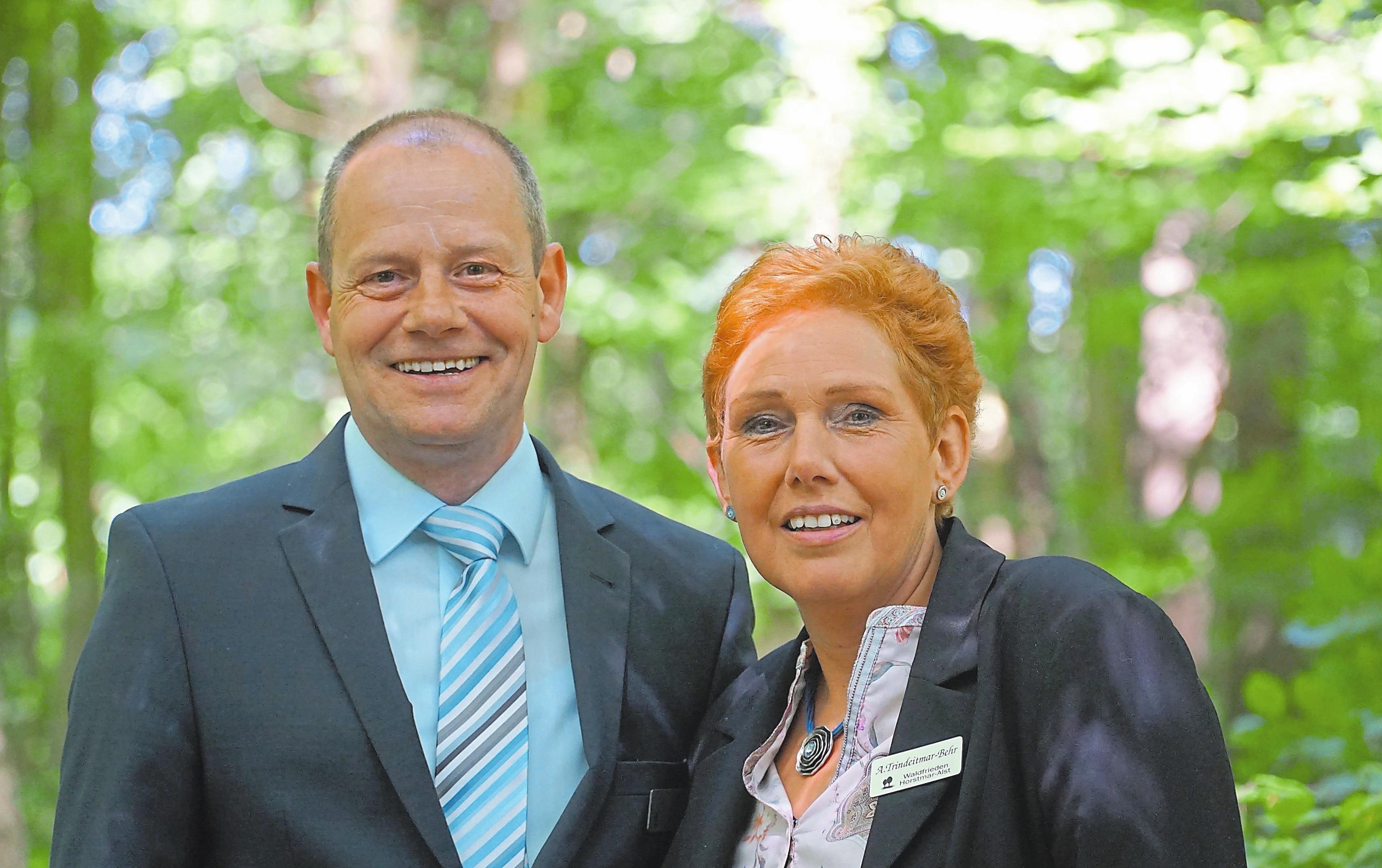 Anne Trindeitmar-Behr und Holger Behr begleiten ihre Kunden sehr einfühlsam. Foto: RED
