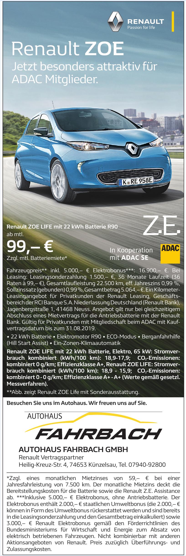Autohaus Fahrbach GmbH