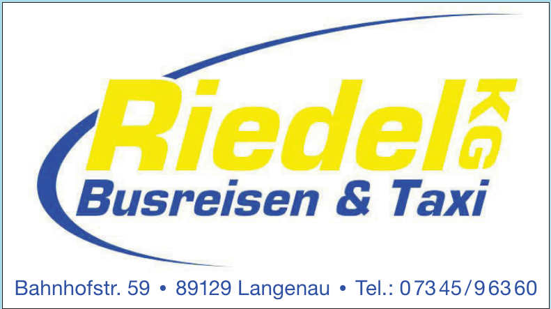 Riedel KG Busreisen & Taxi