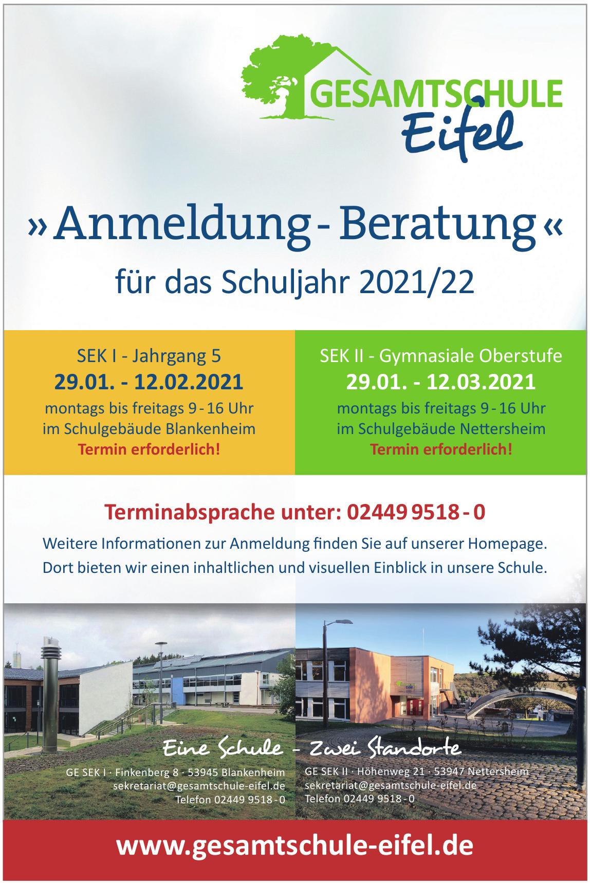 Gesamtschule Eifel SEK I