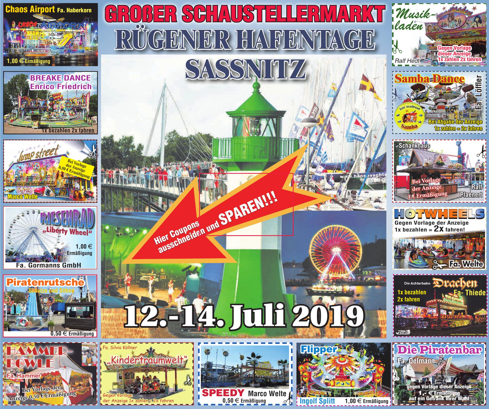 Rügener Hafentage Sassnitz