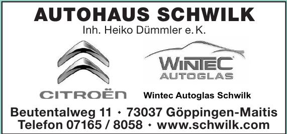 Autohaus Gerhard Schwilk