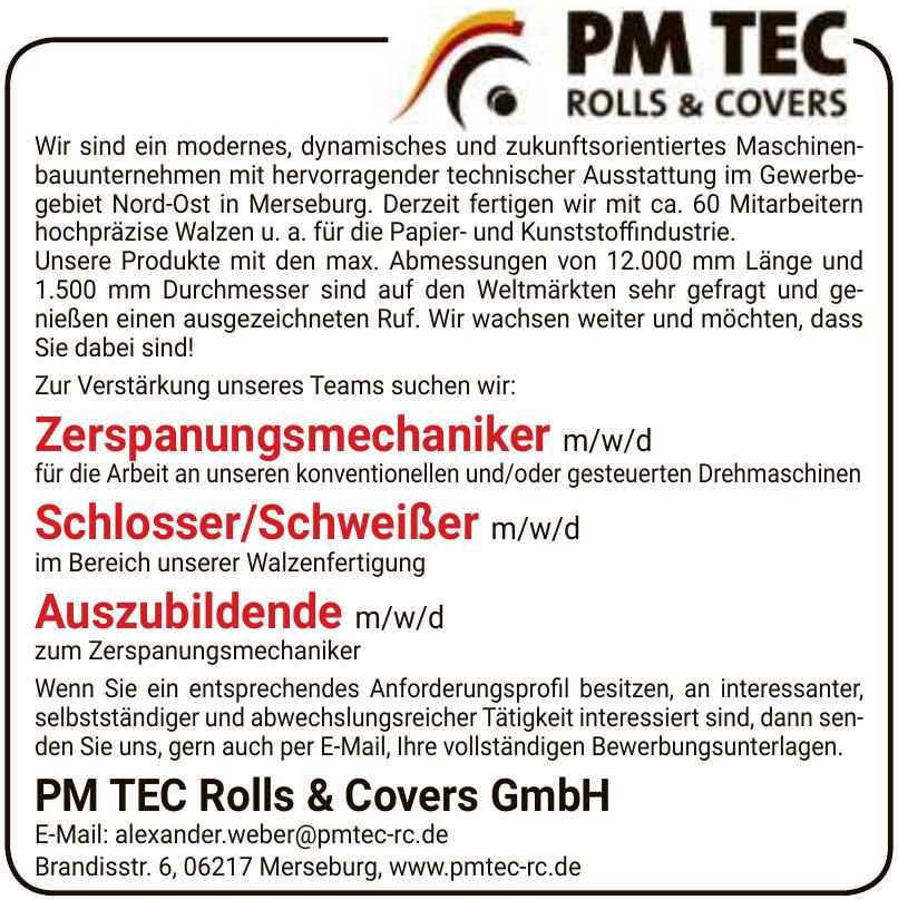 PM TEC Rolls & Covers GmbH