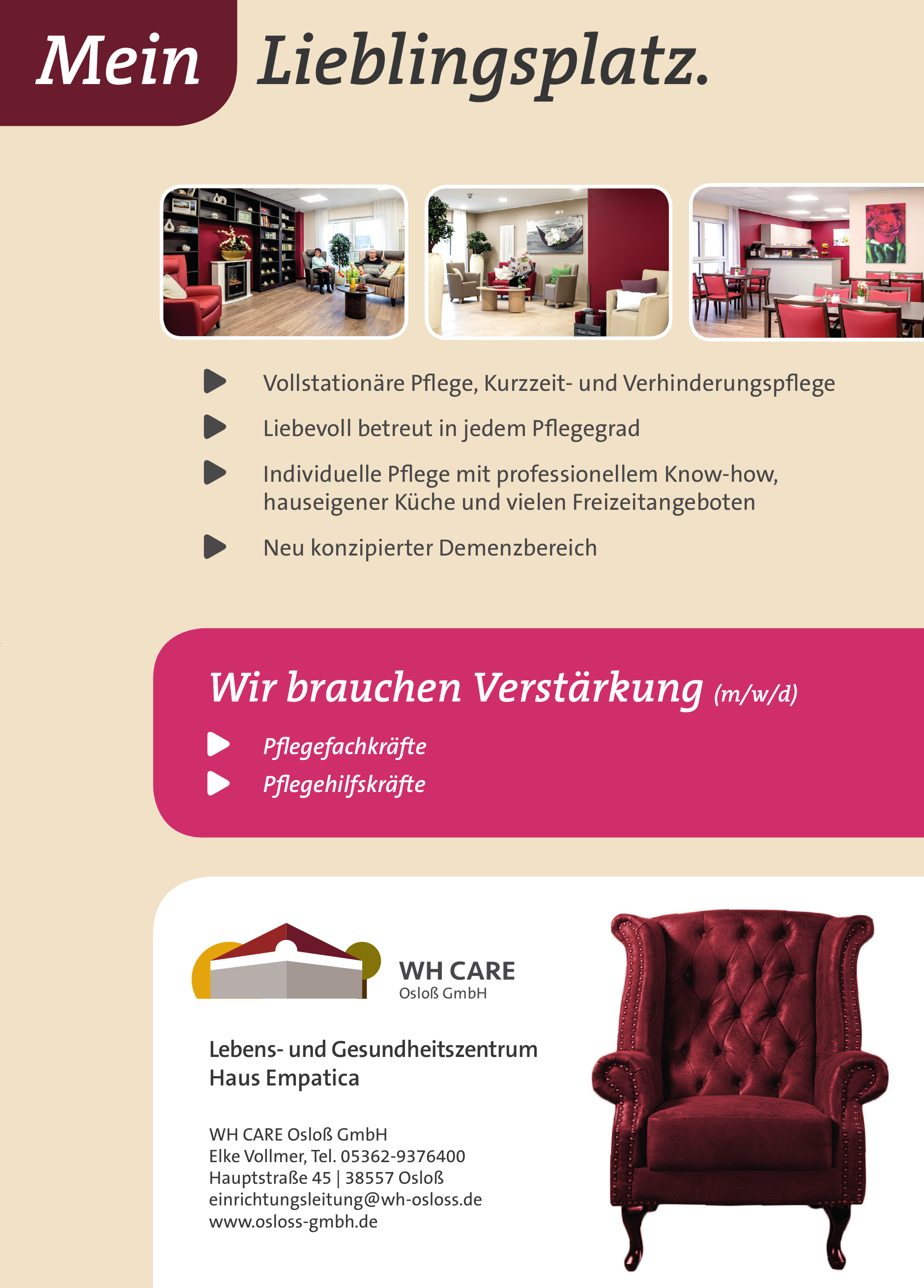 WH Care Osloß GmbH
