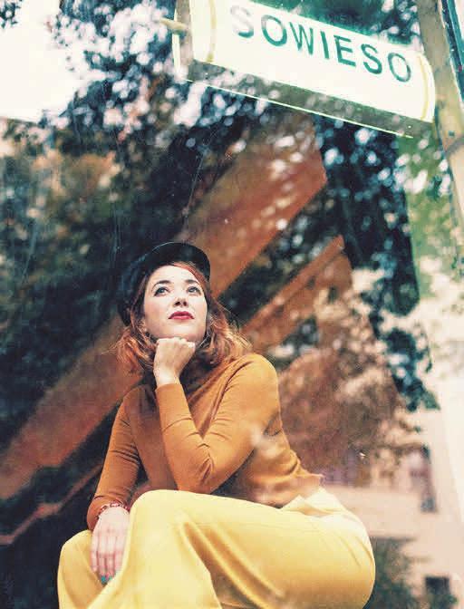 Magdalena Ganter ist am 3. Oktober zu Gast. © Marcus Engler