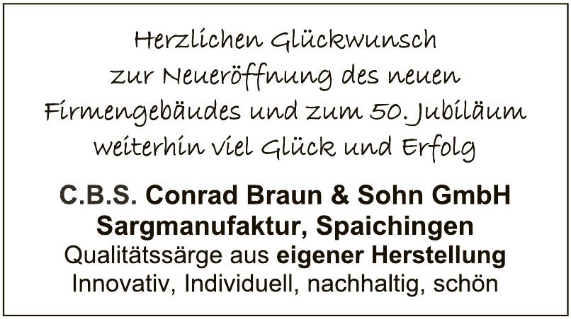 C.B.S. Conrad Braun & Sohn GmbH