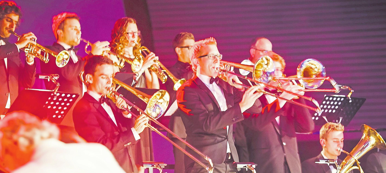 """Das """"Modern Wind Orchestra"""" tritt am Samstagabend auf. Foto: PR"""