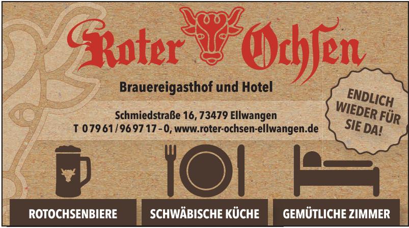 Brauereigasthof und Hotel Roter Ochten