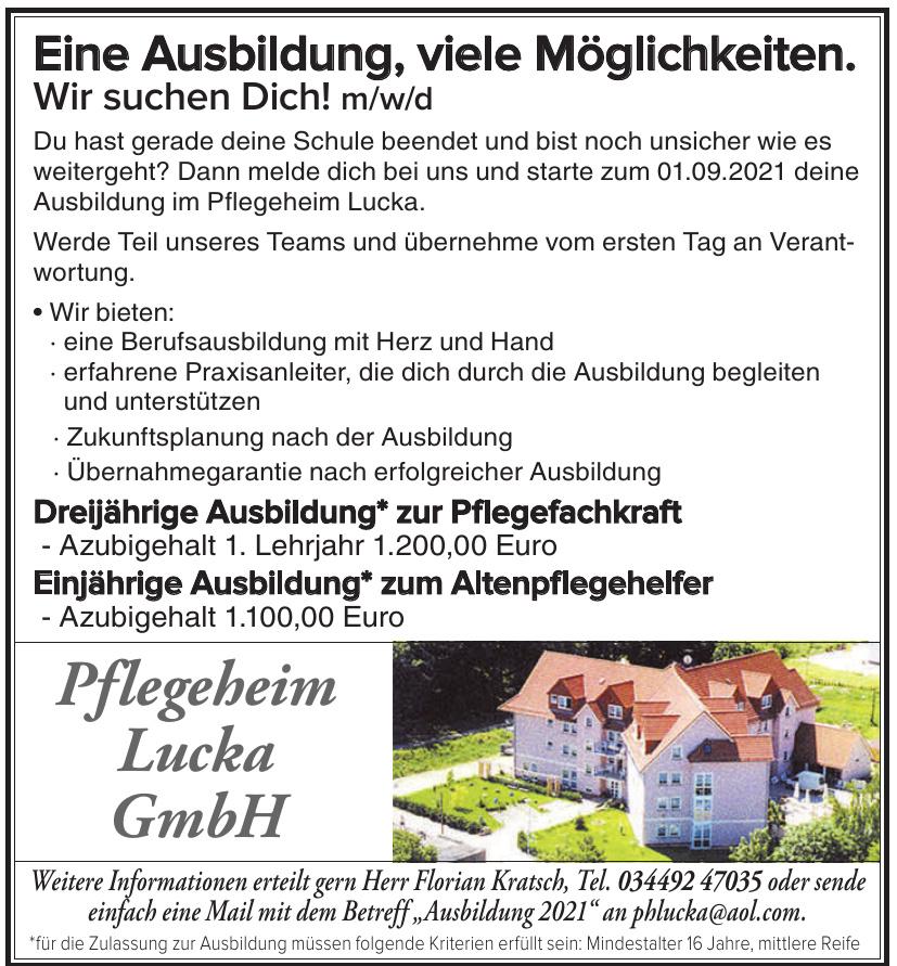 Pflegeheim Lucka GmbH