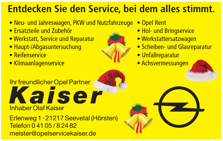 Kaiser - Inhaber Olaf Kaiser