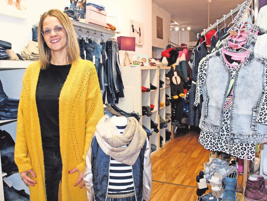 Melanie Helmer zieht mit ihrem Geschäft in neue Räume. FOTO: SKI