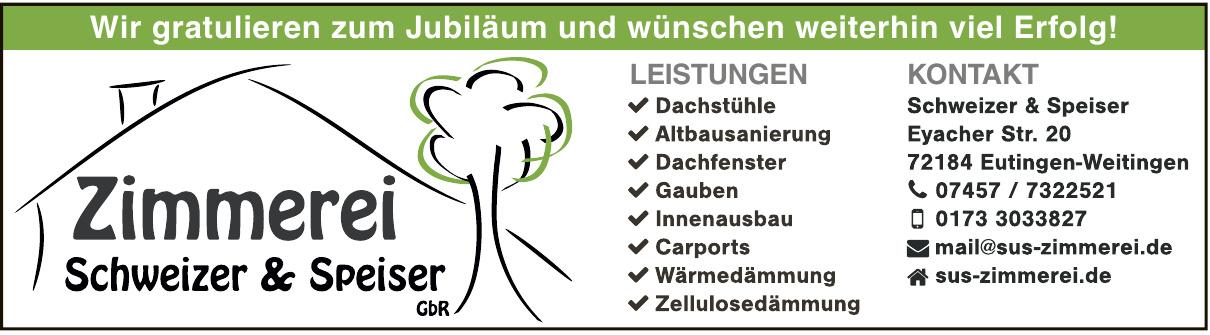 Zimmerei Schweizer & Speiser GbR