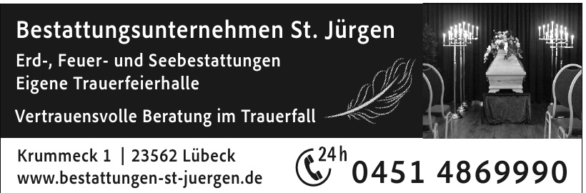 Bestattungsunternehmen St. Jürgen