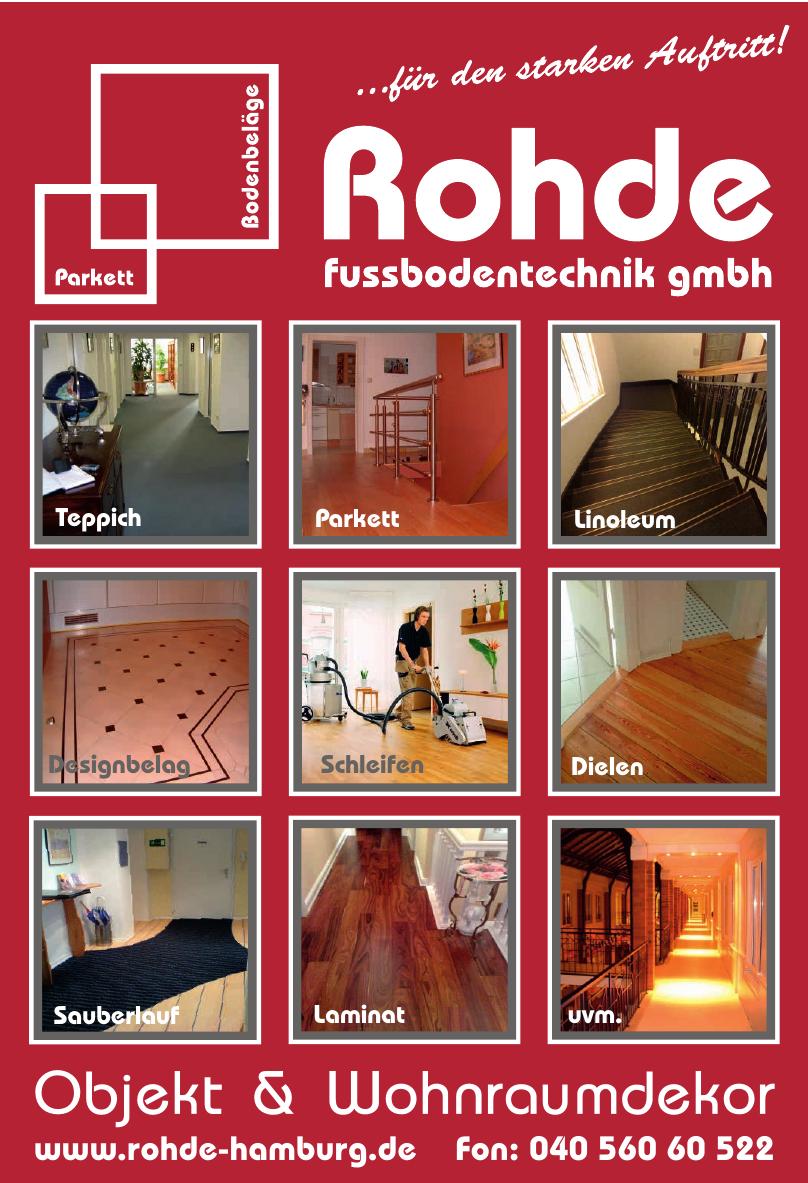 Rohde Fussbodentechnik GmbH