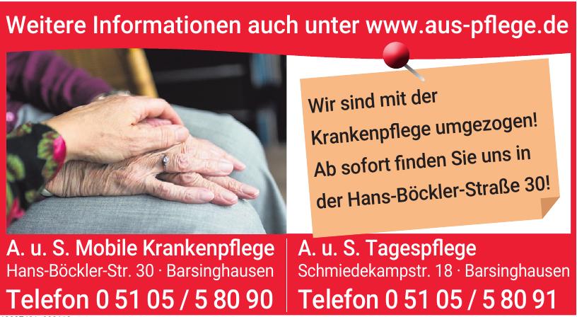 A.u.S. Mobile Krankenpflege und Sozialdienste GmbH