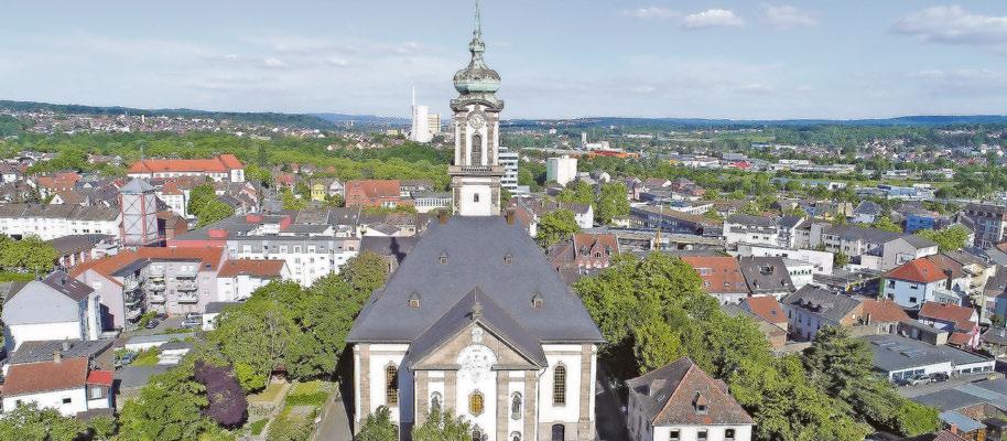 Die Versöhnungskirche der Stadt Völklingen hat eine interessante Geschichte, die bei einer Stadtführung aufgedeckt wird. Foto: Stadt Völklingen