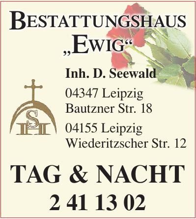 """Bestattungshaus """"Ewig"""""""