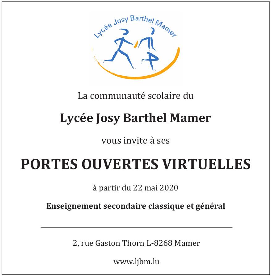 Lycée Josy Barthel Mamer