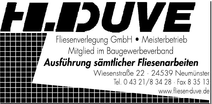 H. Duve Fliesenverlegung GmbH