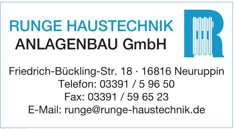 Runge Haustechnik Anlagenbau GmbH