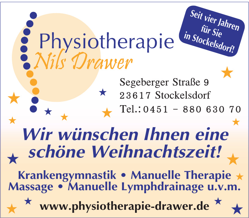 Physiotherapie Nils Drawer