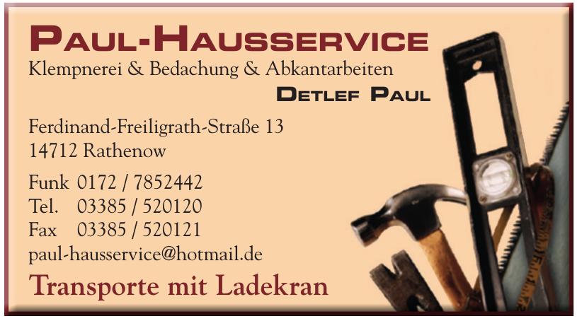 Paul-Hausservice