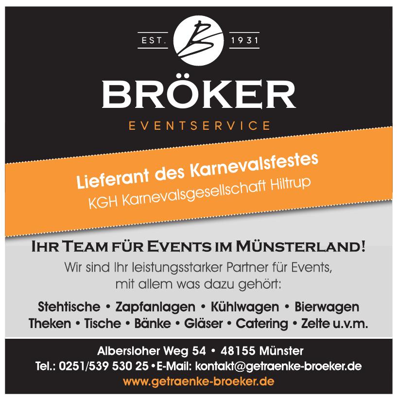 Bröker Eventservice