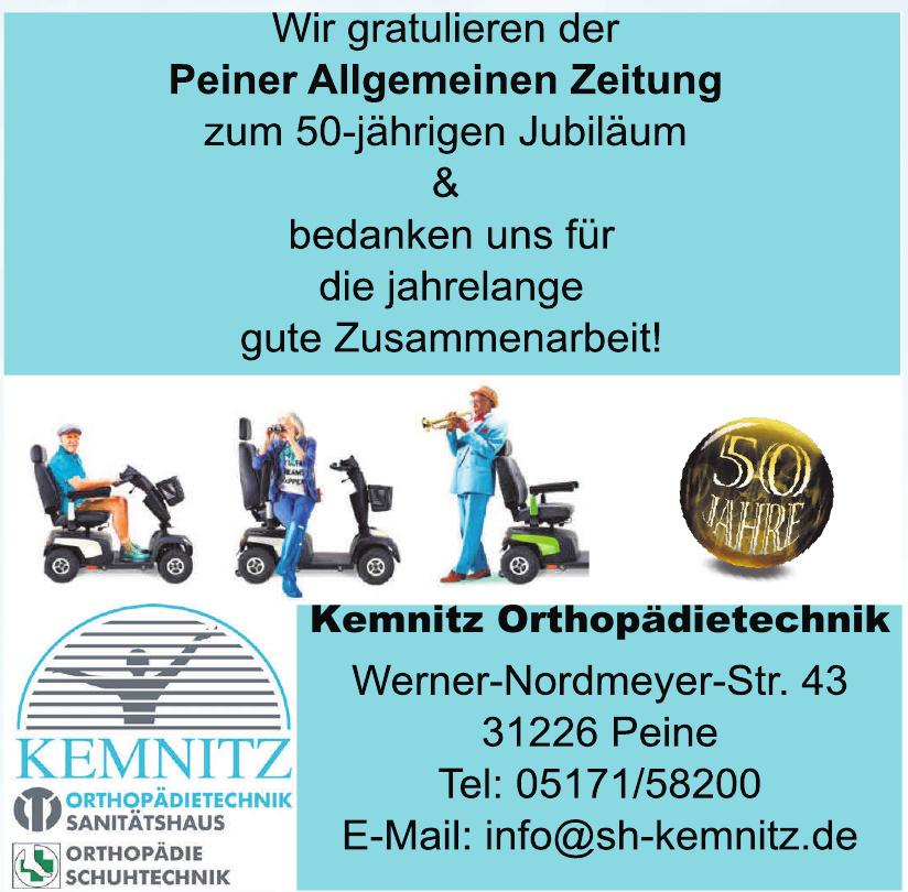 Kemnitz Orthopädietechnik & Kemnitz Orthopädieschuhtechnik